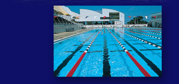 the International Swimming Hall of Fame near Hall of Fame Marina