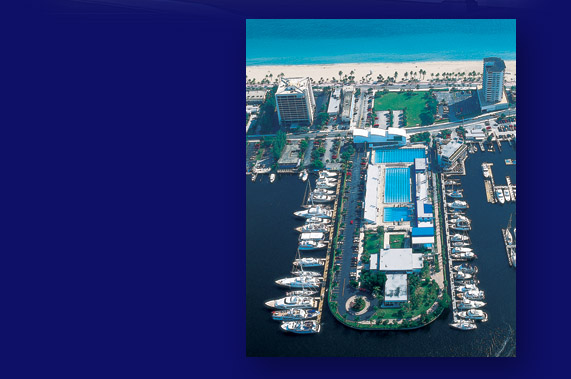 Overhead Photo of Hall of Fame Marina at Swimming Hall of Fame